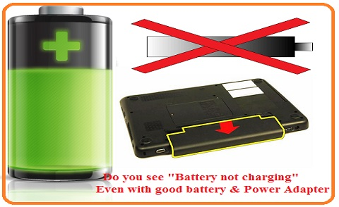 Battery charging problems laptop