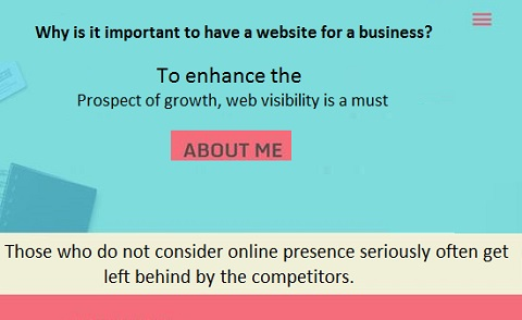 important to have a website for a business