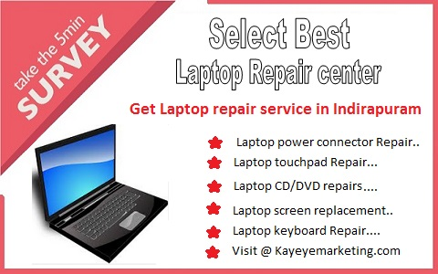 Laptop repair service in Indirapuram