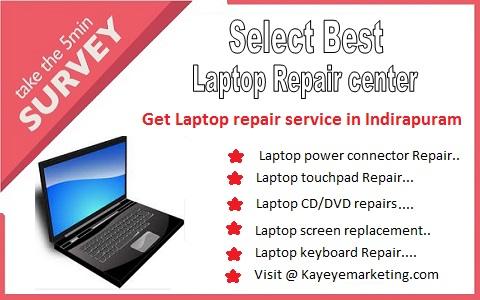 Laptop repair service in Indirapuram