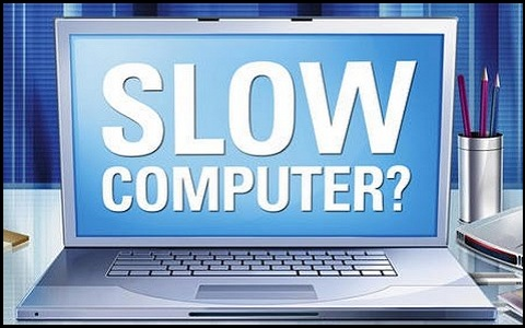 troubleshooting and fix a slow laptop